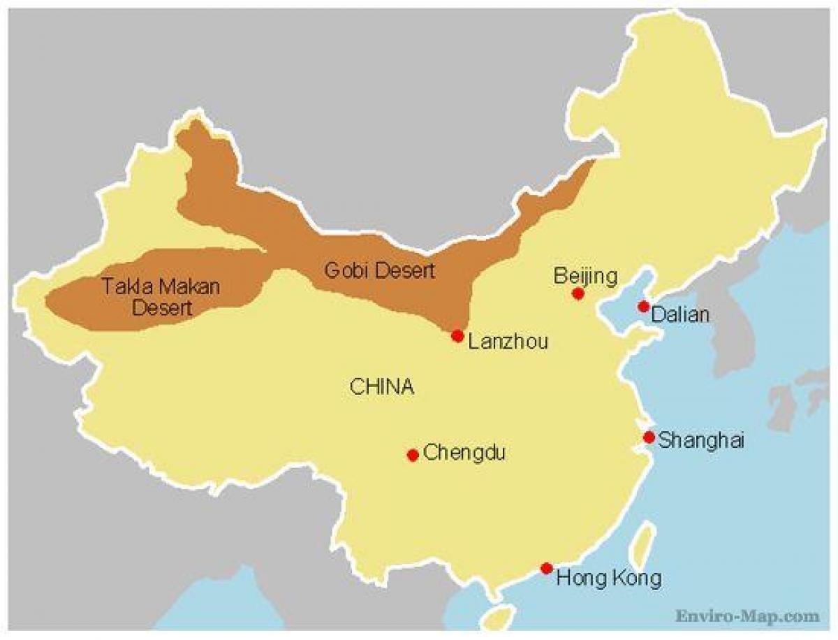 Orkener I Kina Kort Kort Over Kina Orkener Ostlige Asien Asien